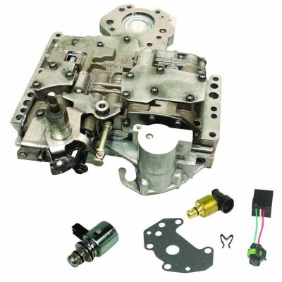 Transmission - Valve Body - BD Diesel - BD Diesel Valve Body - 2005-2007 Dodge 48RE c/w Governor Pressure Solenoid & Transducer 1030423E