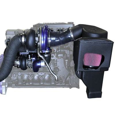 ATS Diesel - *NEW and IMPROVED* Aurora 3000/5000 Twin Turbo Kit, Dodge 2003-07