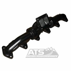 Exhaust Systems / Manifolds - Manifolds / Headers - ATS Diesel - 3 Piece 12V BigFoot Manifold