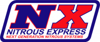 Nitrous Express - Nitrous Express ALL DODGE EFI SINGLE NOZZLE SYSTEM (35-50-75-100-150 HP) WITH 10LB BOTTLE 20921-10