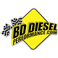 BD Diesel - BD Diesel Downpipe Kit - S400 4in Aluminized Full Marmon 1045240