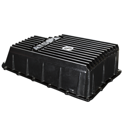 Transmission - Transmission Pan - ATS Diesel - ATS High Capacity Aluminum Transmission Pan, 2011+ Ford, 6R140