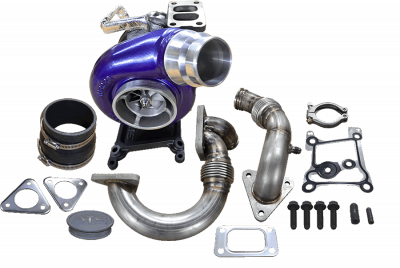 "Turbos & Twin Turbo Kits - Single ""Drop In"" Turbos - ATS Diesel - Aurora 4000 Turbo System - 2011-2014 Ford 6.7L Scorpion"