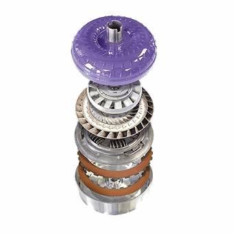 Transmission - Torque Converter - ATS Diesel - Five Star (Soft Lock) Viskus Clutch Drive Torque Converter - 2003.5+ Ford 5R110