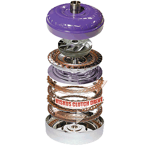 Transmission - Torque Converter - ATS Diesel - Five Star Torque Converter - Cummins Engine to 4R100 Automatic