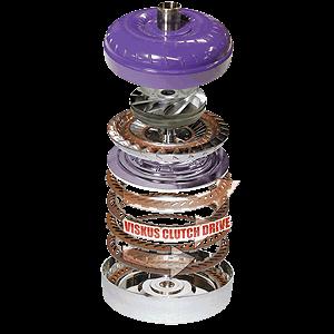 Transmission - Torque Converter - ATS Diesel - Five Star Torque Converter Kit, Dodge 2300 RPM Stall Quick Flash, 47-RE, 300mm Negative Impeller, Low Stall Stator (Machined Truck Stator)