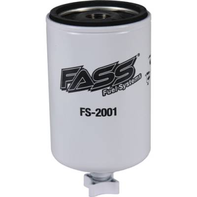 Lift Pumps & Fuel Systems - Replacement Filters - FASS - FASS- Old** Titanium Water Separator (Blue Model)