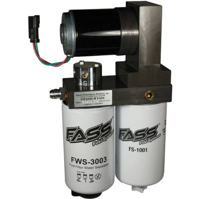 FASS - FASS-Titanium Signature Series Diesel Fuel Lift Pump 165GPH Dodge Cummins 5.9L and 6.7L 2005-2018
