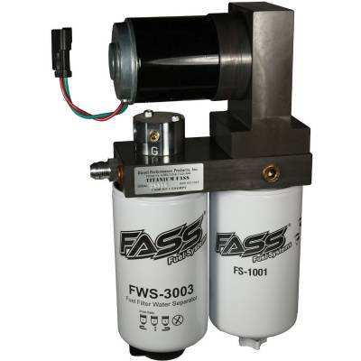 FASS - FASS-Titanium Signature Series Diesel Fuel Lift Pump 165GPH Dodge Cummins 5.9L 1998.5-2004