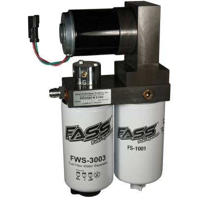 FASS - FASS-Titanium Signature Series Diesel Fuel Lift Pump 165GPH Ford Powerstroke 6.4L 2008-2010
