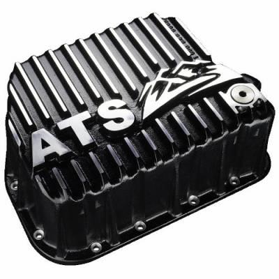 Transmission - Transmission Pan - ATS Diesel - Transmission Pan, ATS Aluminum +5 Qt, 46/7/8-RH/E