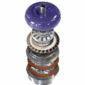 Transmission - Torque Converter - ATS Diesel - Five Star Viskus Clutch Drive Torque Converter - 2003 - 2007 Ford 5R110 with 6.0L
