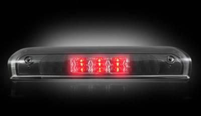Recon Lighting - Dodge 02-08 RAM 1500 & 03-09 RAM 2500/3500 - Red LED 3rd Brake Light Kit w/ White LED Cargo Lights - Smoked Lens - Image 2