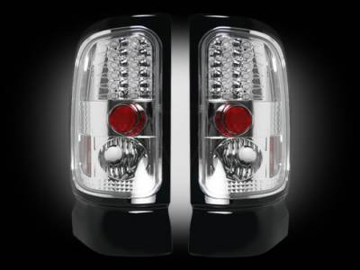 Lighting - Tail Lights - Recon Lighting - Dodge 94-01 RAM 1500 & 94-02 RAM 2500/3500 - Clear Lens