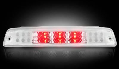 Recon Lighting - Dodge 94-01 RAM 1500 & 94-02 RAM 2500/3500 - Red LED 3rd Brake Light Kit w/ White LED Cargo Lights - Clear Lens - Image 3