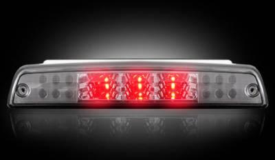 Recon Lighting - Dodge 94-01 RAM 1500 & 94-02 RAM 2500/3500 - Red LED 3rd Brake Light Kit w/ White LED Cargo Lights - Smoked Lens - Image 2