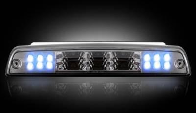 Recon Lighting - Dodge 94-01 RAM 1500 & 94-02 RAM 2500/3500 - Red LED 3rd Brake Light Kit w/ White LED Cargo Lights - Smoked Lens - Image 3