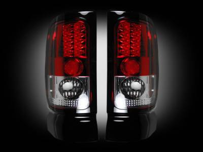 Lighting - Tail Lights - Recon Lighting - Dodge 94-01 RAM 1500 & 94-02 RAM 2500/3500 - Red Lens
