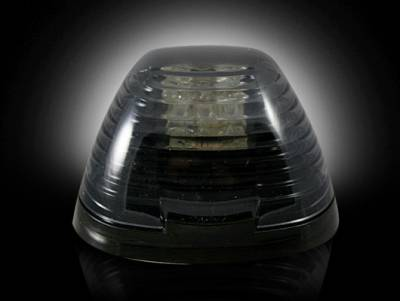 Recon Lighting - Ford 99-16 Superduty (1-Piece Single Cab Light) Smoked Lens with Amber LED's - 1-Piece Single Cab Light ONLY - Image 2