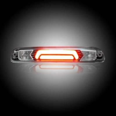 Recon Lighting - Ford 99-17 Superduty F250HD/350/450/550 & 95-03 Ranger & Ford Explorer Sport Trac 01-05 - ULTRA HIGH POWER Red LED 3rd Brake Light Kit w/ ULTRA HIGH POWER CREE XML White LED Cargo Lights - Clear Lens - Image 2