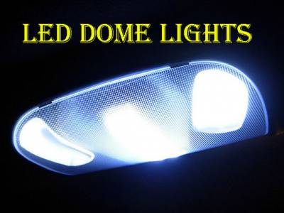 Recon Lighting - Ford Dome Light Set LED Replacement - Fits Ford 99-10 Superduty F250/350/450/550/650 & 97-03 F150 - 2 Sets Required For 4-Door Trucks - Image 2