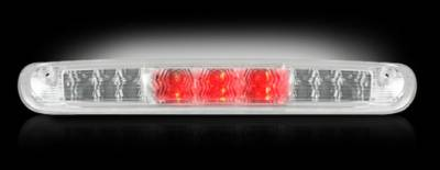 Recon Lighting - GMC & Chevy 07-13 Sierra & Silverado (2nd GEN) - Red LED 3rd Brake Light Kit w/ White LED Cargo Lights - Clear Lens - Image 2