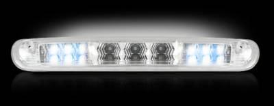Recon Lighting - GMC & Chevy 07-13 Sierra & Silverado (2nd GEN) - Red LED 3rd Brake Light Kit w/ White LED Cargo Lights - Clear Lens - Image 3