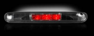 Recon Lighting - GMC & Chevy 07-13 Sierra & Silverado (2nd GEN) - Red LED 3rd Brake Light Kit w/ White LED Cargo Lights - Smoked Lens - Image 2