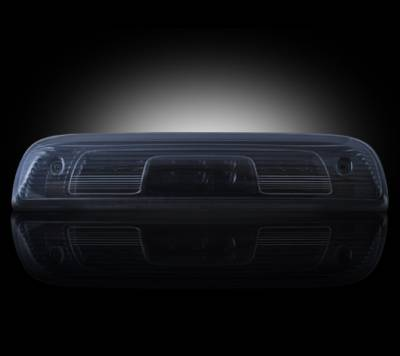 Recon Lighting - GMC & Chevy 14-15 Sierra & Silverado (3rd GEN) - Red LED 3rd Brake Light Kit w/ White LED Cargo Lights - Smoked Lens - Image 1