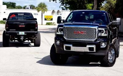 Recon Lighting - GMC Sierra 15-16 2500/3500 (Fits 3rd GEN Single-Wheel ONLY) LED TAIL LIGHTS - Smoked Lens - Image 3