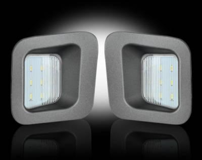 Recon Lighting - White LED License Plate Illumination Kit - Fits all 03-16 DODGE RAM Trucks - Image 2