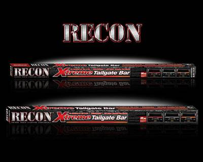 "Recon Lighting - 60"" Tailgate Bar w/ Amber ""Scanning"" LED Turn Signals & Red LED Brake/Running Lights & White LED Reverse Lights (Includes Part # 2641X - In-Line Resistor Box for CANBUS electrical systems) (60"" bar fits most full-sized trucks and SUV's) - Image 4"