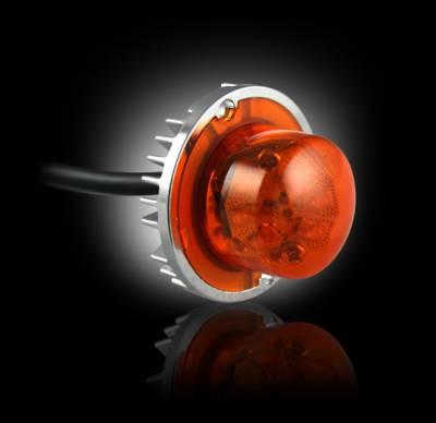 Recon Lighting - 6-LED 19 Function 24-Watt Ultra High-Intensity Strobe Light Kit (2 LED Strobe Lights & 1 Controller Included) - Amber Color - Image 2