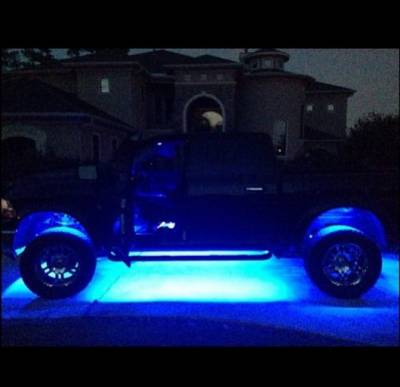 Recon Lighting - 15' Flexible IP68 Rated Waterproof Light Strip with Ultra High Power CREE LEDs (1-Piece) - BLUE - Image 3