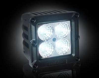 "Recon Lighting - 1900 LUMEN 3"" SQUARE LED 25° FLOOD LIGHT - 4 Individual 5-Watt (20-Watt Total) Spot Pattern CREE XTE LEDs - Image 2"