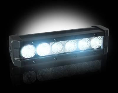 "Recon Lighting - 2100 LUMEN 8"" LED LIGHT BAR & RECON WIRING KIT - 6 Individual 5-Watt (30-Watt Total) CREE XTE LEDs - Image 2"