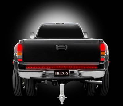 "Recon Lighting - 49"" Hyperlite Red LED ""Line Of Fire"" Tailgate Light Bar (Fits most flare side and smaller trucks and SUV's) - Image 3"