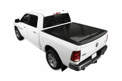 Exterior Accessories - Bed Covers - Retrax - PowertraxONE MX-Ram 1500 (02-08) & 2500, 3500 (03-09) & Mega Cab (06-09) Short Bed w/ STAKE POCKET **ELECTRIC COVER** ONE MX