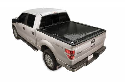 Exterior Accessories - Bed Covers - Retrax - PowertraxONE-Super Duty F-250-350 Short Bed (08-up) w/ STAKE POCKET **ELECTRIC COVER**