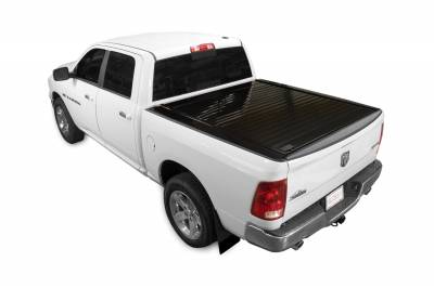 Exterior Accessories - Bed Covers - Retrax - PowertraxPRO MX-Ram 1500 (02-08) & 2500, 3500 (03-09) & Mega Cab (06-09) Short Bed w/ STAKE POCKET **ELECTRIC COVER** MX