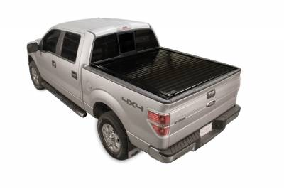 Exterior Accessories - Bed Covers - Retrax - PowertraxPRO MX-Super Duty F-250-350 Short Bed (99-07) w/ STAKE POCKET **ELECTRIC COVER** MX