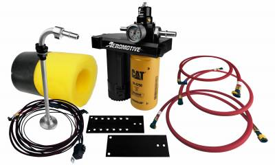 Lift Pumps & Fuel Systems - Lift Pumps - Aeromotive Fuel System - 01-10 Chevy Duramax Diesel Lift Pump Kit