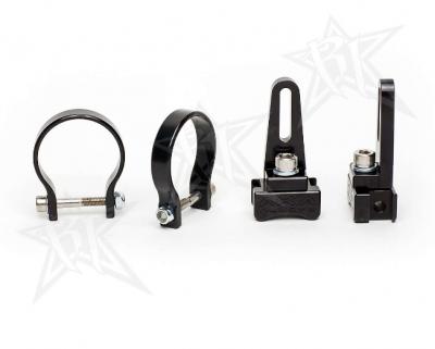 "Rigid Industries - Rigid Industries 0.875"" Adjustable Clamp System; Pair 40820"