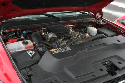 Air Intakes & Parts - Cold Air Intake - Bully Dog - Rapid Flow Intake-Plastic - GM Silverado and Sierra 6.6L Duramax '11-'12 (LML)