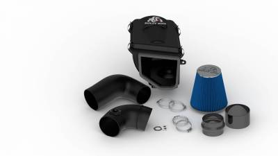 Air Intakes & Parts - Cold Air Intake - Bully Dog - Rapid Flow Intake-Plastic - GM Silverado and Sierra 6.6L Duramax LBZ 2006-2007