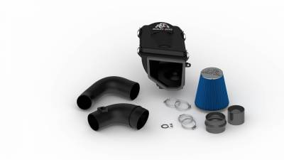 Air Intakes & Parts - Cold Air Intake - Bully Dog - Rapid Flow Intake-Plastic - GM Silverado and Sierra 6.6L Duramax LLY 2004.5-2006