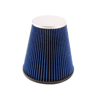 Bully Dog - RFI cone replacement filter, 8 layer cotton gauze - 2003-12 Cummins, Fits Intake part number 52102, 52103