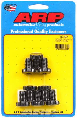 Engine Parts & Performance - Studs & Bolts - ARP - Dodge Diesel 5.9 Cummins Flex Plate Bolt Kit For Dodge Cummins 12x1.0-underhead length .700