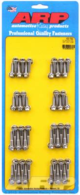 Engine Parts & Performance - Studs & Bolts - ARP - Duramax 6.6L LB7 Hex Valve Cover Bolt Kit - Stainless