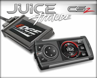 Tuners & Programmers - Tuners / Programmers - Edge Products - 2004.5-2005 GM DURAMAX (6.6L) JUICE W/ATTITUDE CS2
